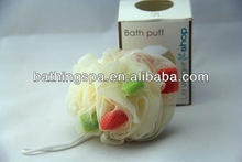 2014 hot selling bath body puffs