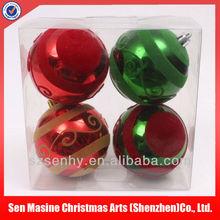 2014 Promotional christmas plastic solar ball