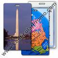 الترويجية العدسية 3d العلامة أمتعة السفر مع تغيير الصور من نصب واشنطن في د. c. ومجموعة خريطة أمريكا الشمالية