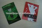 4grams Wicked tobacco sachets/aluminum foil zipper pouch