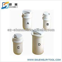 ceramic crucible/quartz crucible for melting gold