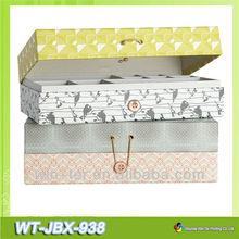 الزخرفية صندوق من الورق المقوى wt-jbx-938 جواهر