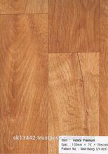 Wood Design Mat Flooring 1.20MM X 2M X 25M/Roll