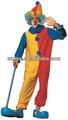payaso de fantasía para adultos traje de vestir bm456