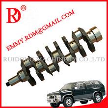 Autoparts Crankshaft And Crankshaft Pulley