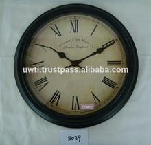antique clock /metal wall clock,UW-WC157