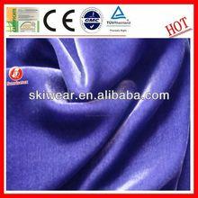 spandex stretch upholstery curtain velvet flocked fabrics textile