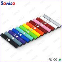 Fashionable no leaking color led e-cig for sale