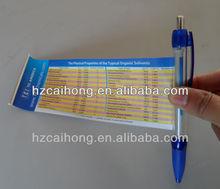 best designed banner pen promotional ball pen cheap for advertisement