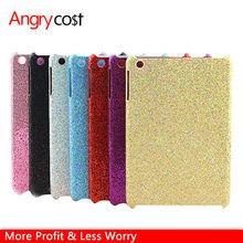 New Product Ultra Thin Light Glitter Powder Studded Hard Pc Skin Case For Ipad