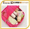 2014 fashion ladies travel bags wash bag mesh cosmetic bag