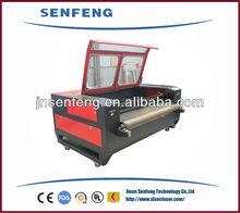 hot sale printed fabric laser cutting machine china supplier