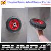 8inch steel rim small rubber wheel