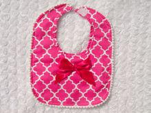 2014 easy quatrefoil infant baby bib necklace