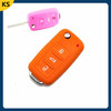Customized car key fob cover case 3 buttons car key cover