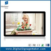 "wall mount Ipad style 22"", 32"", 42"", 55"" lcd advertising digital signage display monitor"
