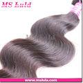 Venta al por mayor de china peruano virgen cabello humano la onda del cuerpo armadura del pelo y 2# 4# color 4 uds mucho