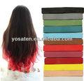 tiza de color del pelo para la fabricación de cualquier color de pelo que te gusta
