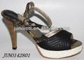 mais recente projeto bonito elegante sandálias de menina sandália de salto alto