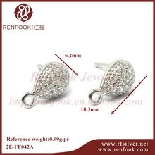 jewelry set mountings rings and earrings tear drop earrings