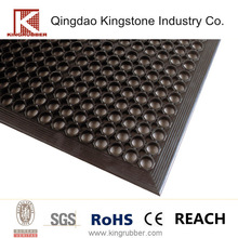Drainage Holes Outdoor Rubber Flooring