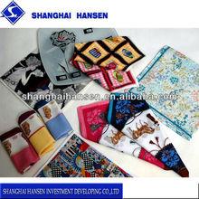 2014 Best selling popular cotton bandana & Gift box