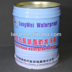 polyurethane waterproof joint coating for ponds