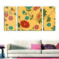 flower frameless oil painting on canvas