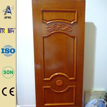 Afol solid wood swing door mahogany solid wood door luxury interior solid wooden door