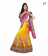 lehenga style lace designer sarees