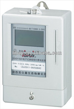 Single phase electrical read electricity meter electronic prepaid energy meter