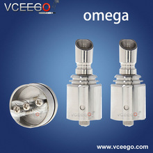 Hotting & fashion design pure stainless omega v1.1 ecig mod wholesale