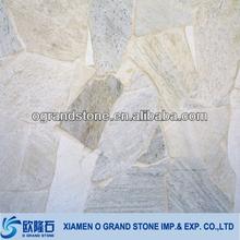 Natural Cream Silver Cloud Brazilian White Quartzite