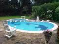 Pvc piscina de plástico fabricante forro
