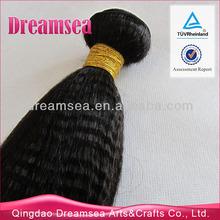 100% Human Hair Malaysia Remy Hair Weaving Italian Yaki