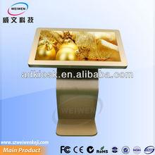 digital photo frame 42 inch touch screen advertising kiosk