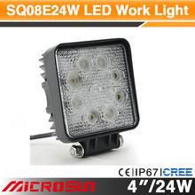 led rechargeable work light 24w led work light 4wd spot light