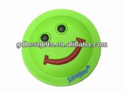 personalized smiley face soft pvc fridge magnet