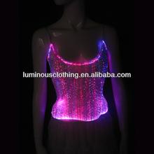 original design western colorful luminous entertainment ladies fashion new tops