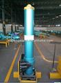Cilindro hidráulico telescópico