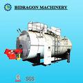 Automático controlado por plc de gas/despedido de aceite caliente de la caldera de agua