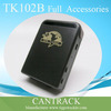 Cheap Mini personal/pet GPS Tracker tk102b with Platform Website, 850/900/1,800/1,900MHz Band