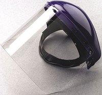 transparent petg visor and pc visor full face shield visor manufacturer pass ANSI/ISEA Z87.1-2010