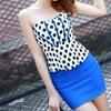 N1378 Stylish Ladies Tee Dress Sexy Nightclub Dress Hot Selling Polka Dot Dress For Women
