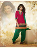 Indian designer Red patiala punjabi patiyala fancy girl salwar kameez casual dress material for women wholesale suits 8010
