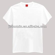 Fashionable breathable white cotton latest mens t shirts