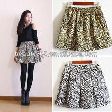 winter Golden Rose Elegant Short Skirt sexy mature women in short mini skirts