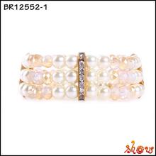 Fancy design infinity faith and love charms bracelet
