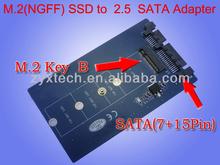 """NGFF M.2 SSD to 2.5"""" 22pin SATA Adapter"""