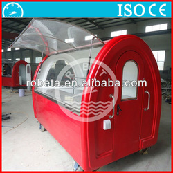 Electric Mobile Food Cart/Food Trailer For Fast Food From China